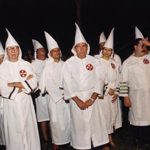 David Duke, lider histórico del KKKlan