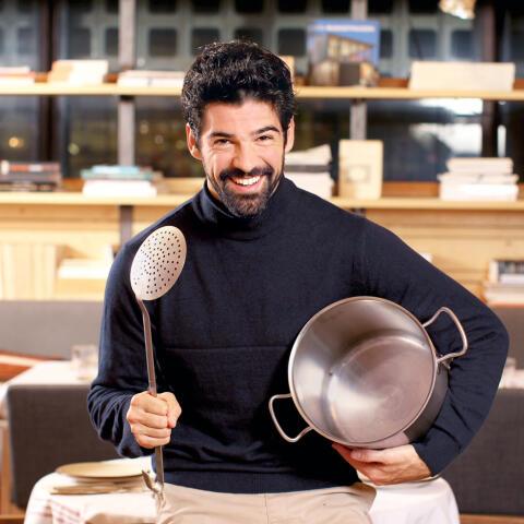 Miguel Ángel Muñoz: 'Me tomé la cocina como si estuviera cumpliendo el sueño de mi vida'