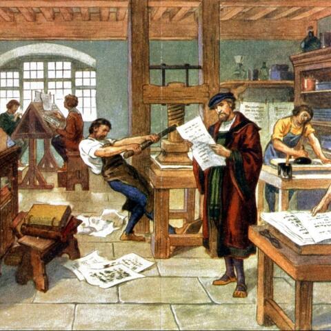 La revolución de la imprenta