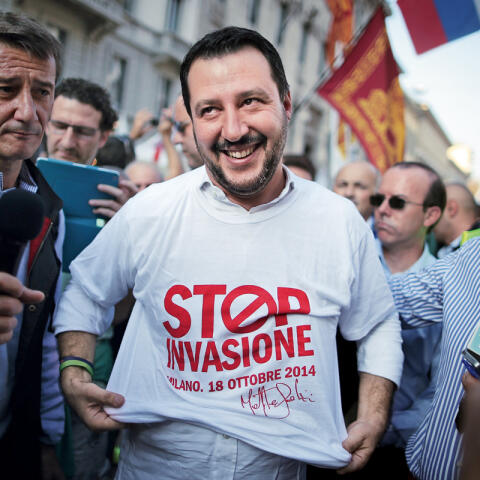 Salvini, un populista en la corte romana