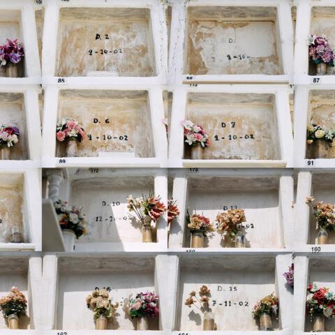Pateras en Cádiz, las tumbas de los sin nombre