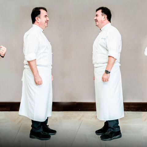 'Deconstruyendo' al cocinero diez estrellas