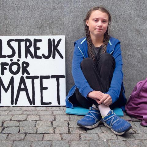 Greta, la chica que se ha propuesto salvar el mundo
