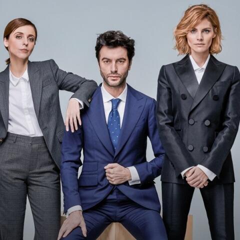 Amaia Salamanca, Javier Rey y Leticia Dolera: el trío de moda