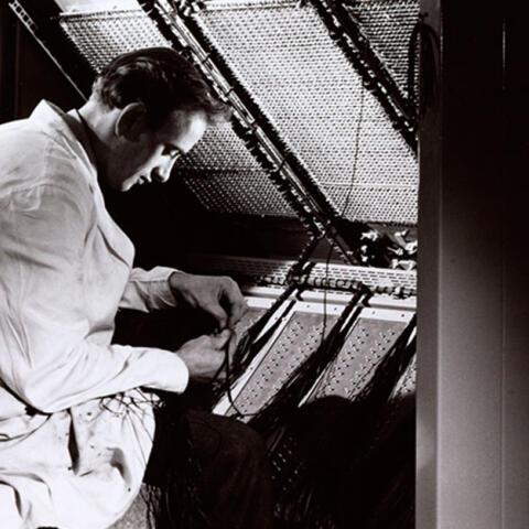 Walter Nurnberg, el hombre que retrataba ordenadores
